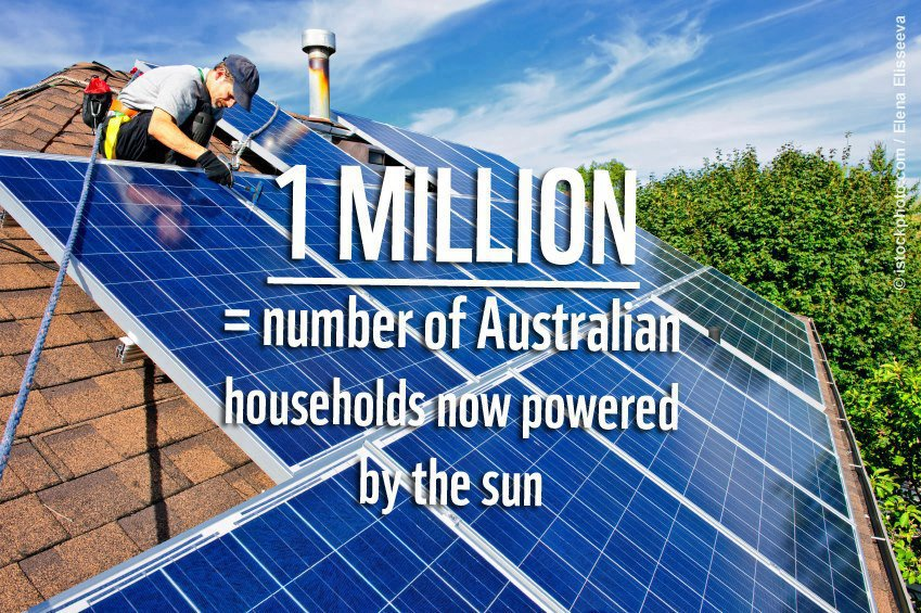 one million australians graphic