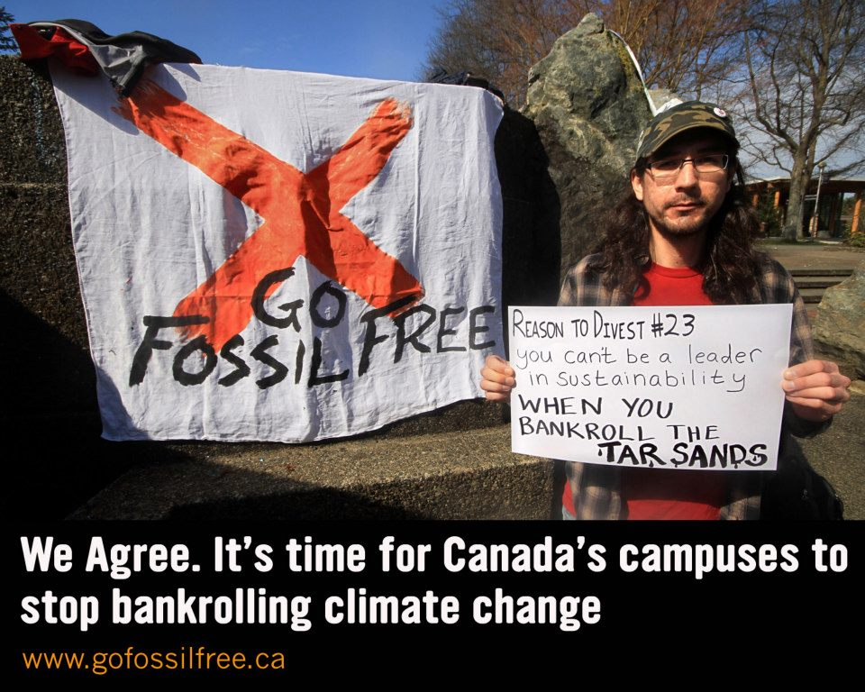 graphic: Fossil Free Canada