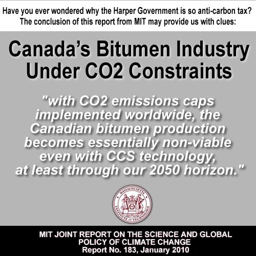 canadian bitumen under carbon pricing