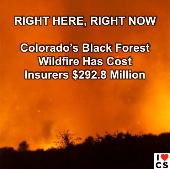 colorado's expensive fires