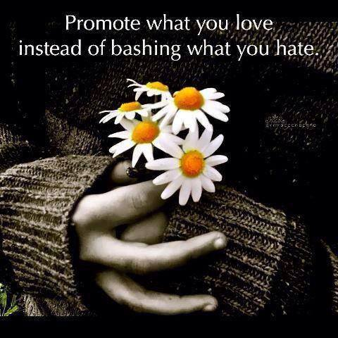 promote what you love quote